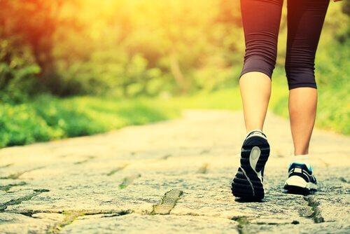 caminhada, ansiedade